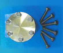 大気用 フランジ取付用DLC(ダイヤモンドライクカーボン)コーティングボルト